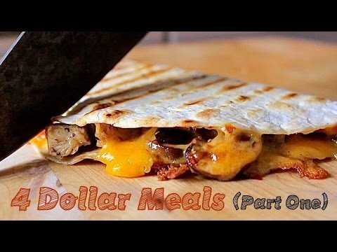4 Meals, 4 Ingredients, 4 Dollars – College Cooking (Pt. 1)