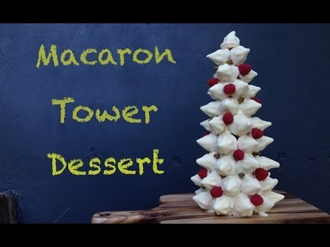 Chocolate Macaron Tower Dessert Recipe HOW TO COOK THAT Ann Reardon gluten free