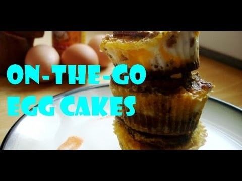 On-the-Go Egg Cakes | How To Cook