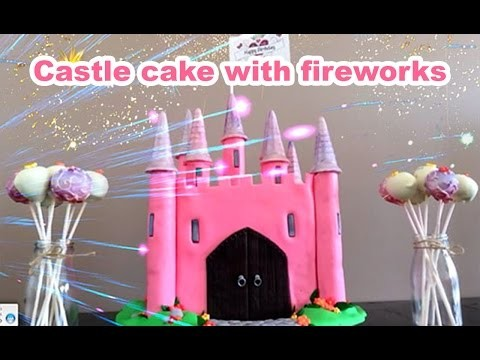 PRINCESS CASTLE CAKE How To Cook That castle cake tutorial