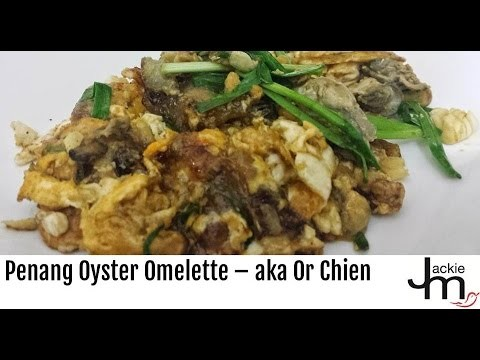 Hangout-On-Air (Full) – How to Cook Penang Oyster Omelette