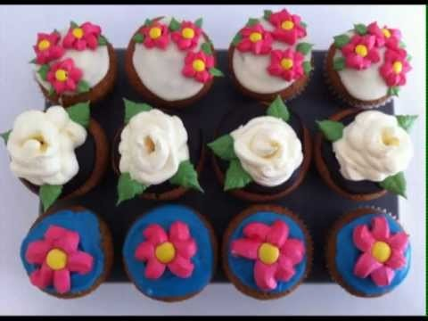 EASY How to pipe frosting rose on cupcake pt2 how to cook that ann reardon