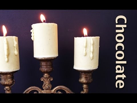 Chocolate Candle Recipe HOW TO COOK THAT Ann Reardon