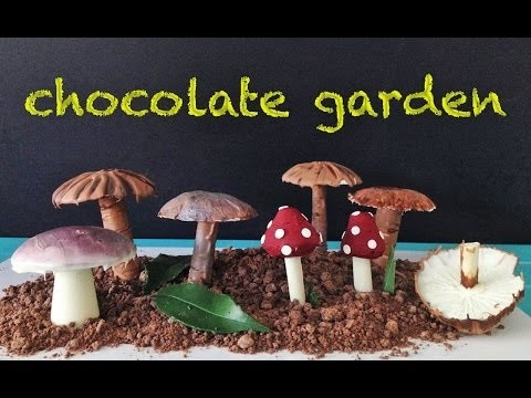 Chocolate Garden HOW TO COOK THAT Garnish Decoration Dessert Recipe Ann Reardon