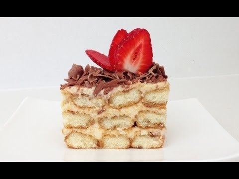 Tiramisu Recipe HOW TO COOK THAT Dessert Ann Reardon