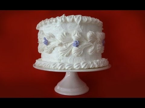 Meringue Birthday Cake Recipe by Ann Reardon – How To Cook That Ep 042