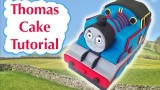 Thomas Train Birthday Cake HOW TO COOK THAT Ann Reardon 3D fondant