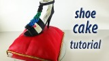 Stiletto Shoe Cake Tutorial Fondant Pillow Cake HOW TO COOK THAT Ann Reardon Cake Decorating