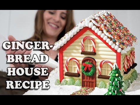WIN A STAND MIXER … GINGERBREAD HOUSE RECIPE How To Cook That Giveaway