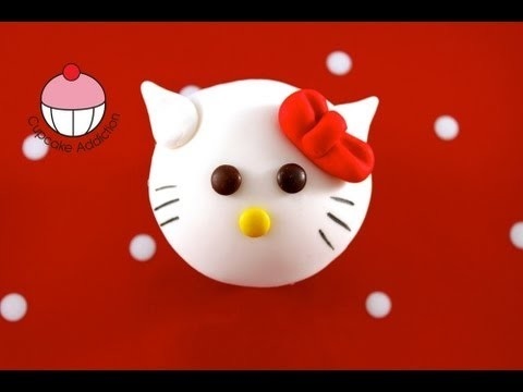 Cupcakes HELLO KITTY Style! Make Hello Kitty Cupcakes – A Cupcake Addiction How To Tutorial!