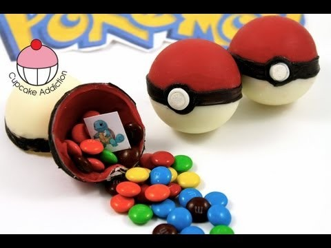 Candy Pokeballs! Make Edible Pokemon Pokeballs – A Cupcake Addiction How To Tutorial