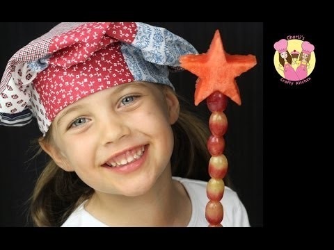 FRUITY FAIRY WAND – make a fruit wand for your fairies – Very easy and it's healthy