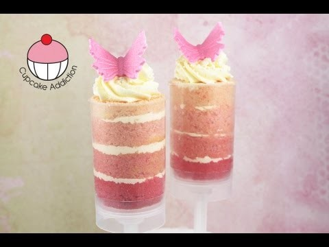 Beautiful Ombre Push Pops! Make Layered Cake Shooters – A Cupcake Addiction How To Tutorial
