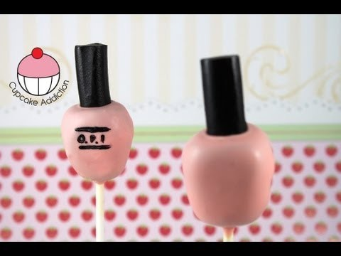 Cakepops! Make a Nail Polish Bottle Cake Pop – A Cupcake Addiction How To Tutorial