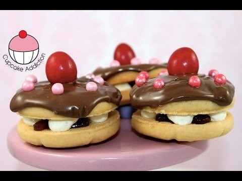 Make Mini Cake Cookies! Perfect for Topping Cakes and Cupcakes – By Cupcake Addiction
