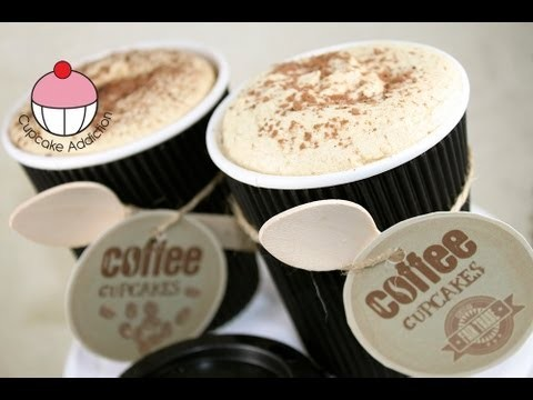 Cupcakes! Make Espresso Coffee Cafe Latte CUP-Cakes! A Cappuccino Addiction How To Tutorial