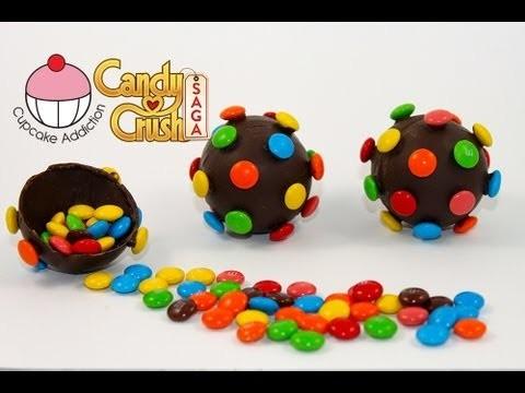 CANDY BOMB Pinatas! How to Make Candy Crush Saga Colour Bombs by Cupcake Addiction