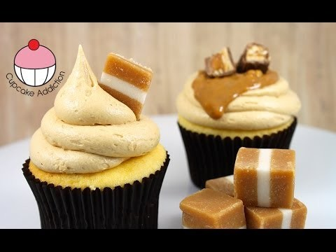 Caramel Frosting Recipe – 3 Ingredient CHEATS Recipe by Cupcake Addiction