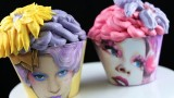 Hunger Games Cupcakes! Make Effie Trinket Capitol Cupcakes – A Cupcake Addiction How To Tutorial