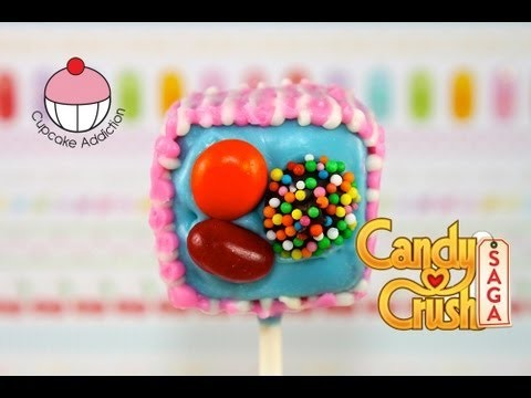 Make Candy Crush Cake Pops – WARNING – HIGHLY ADDICTIVE!! A Cupcake Addiction How To Tutorial