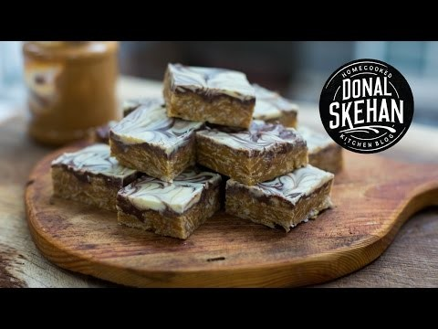 Peanut Butter Snicker Squares feat. MyCupcakeAddiction!