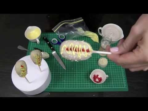Hot Dog Cakepops! Make cake pops that look like hot dogs! A Cupcake Addiction How To Tutorial