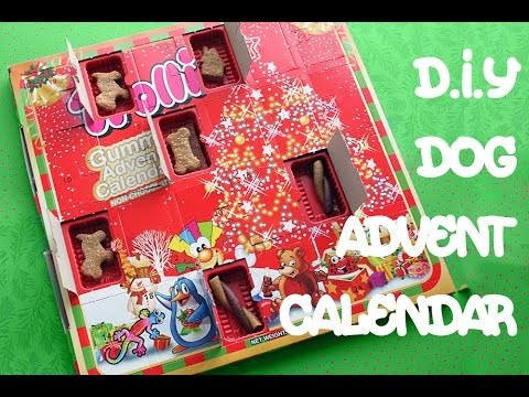 CHRISTMAS DOG ADVENT CALENDAR – By MYCUPCAKEADDICTION-  XMAS FESTIVE TREATS – by Cooking For Dogs