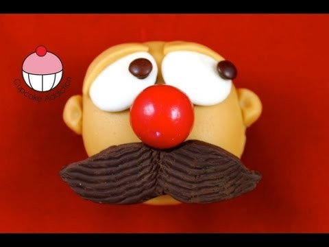 Decorate MOVEMBER Mustache Cupcakes! A Cupcake Addiction How To Decorating Tutorial