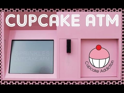 CUPCAKE ATM – I visited the Sprinkles Cupcake ATM in Beverly Hills and LOVED it!!