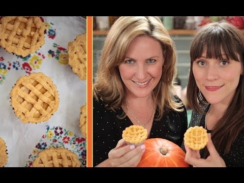 Pumpkin Pie Cheesecake Cupcakes! FoodTube & MyCupcakeAddiction