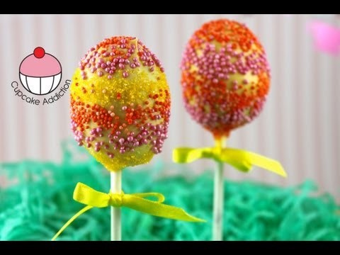 Easter Cakepops! Make Easy Easter Egg Cake Pops — A Cupcake Addiction How To Tutorial