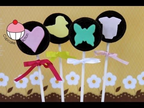 Make an Oreo Cookie Cake Pop – A Cupcake Addiction How To Tutorial