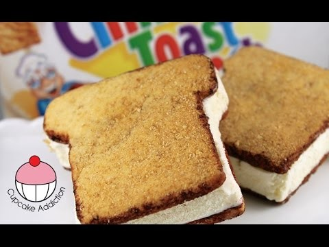Cinnamon Toast Ice Cream Sandwiches – Recipe & How To with Cupcake Addiction