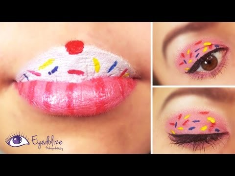 Cupcake Makeup Tutorial by Eyedolize Makeup – Thanks MyCupcakeAddiction!