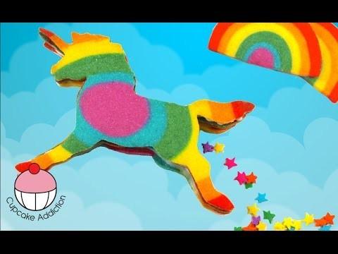 Rainbow Unicorn Cookies – 3D Piñata cookies that POOP STARS! What The?