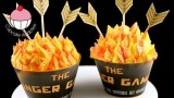 HUNGER GAMES CUPCAKES! Make Catching Fire Cupcakes – A Cup Cake Addiction how To Tutorial