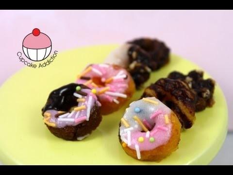 Make Mini Gummi Donuts! A Popin Cookin (Happy Kitchen) Semi Fail by Cupcake Addiction