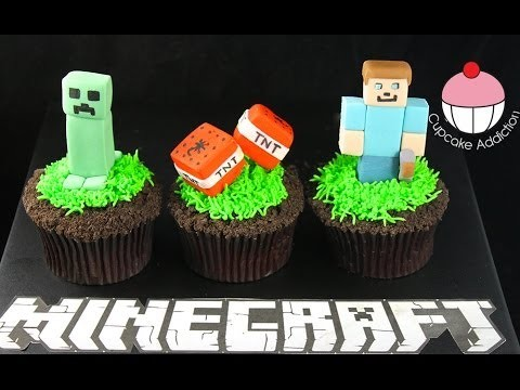 MINECRAFT Cupcakes – Let's Play Minecraft… in Cup Cake form!