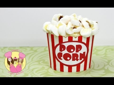 POPCORN CUPCAKES!  Easy how to tutorial by Charli's crafty kitchen – circus or movie party