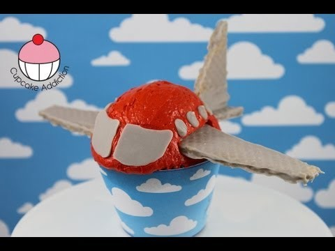 Make Aeroplane Cupcakes! Mini Jet Plane Cakes – A Cupcake Addiction How To Tutorial