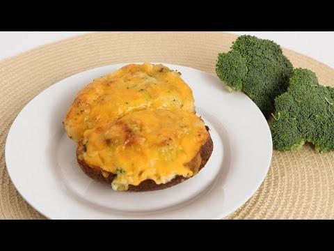 Cheddar Broccoli Twice Baked Potato Recipe – Laura Vitale – Laura in the Kitchen Episode 834