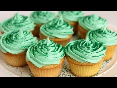 Shamrock Milkshake Cupcake Recipe – Laura Vitale – Laura in the Kitchen Episode 548