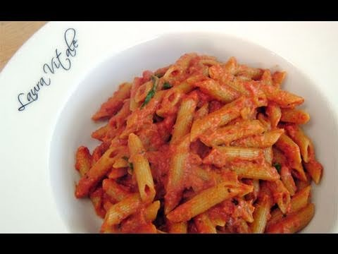 Penne Vodka Recipe – by Laura Vitale – Laura in the Kitchen Ep 101