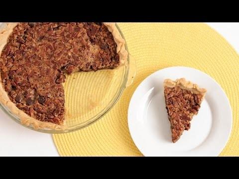 Chocolate Pecan Pie Recipe – Laura Vitale – Laura in the Kitchen Episode 839