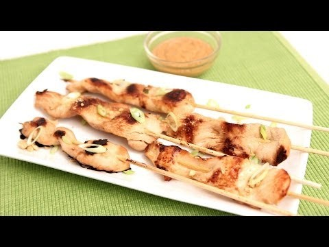 Chicken Satay with Peanut Sauce Recipe – Laura Vitale – Laura in the Kitchen Episode 779