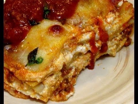 "How to Make Classic Italian Lasagna Recipe by Laura Vitale – ""Laura In The Kitchen"" Episode 47"