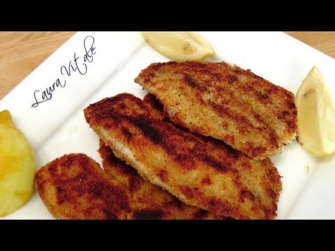 Crispy Tilapia Cutlets – Recipe by Laura Vitale – Laura in the Kitchen Episode 154