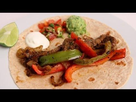 Homemade Steak Fajitas Recipe – Laura Vitale – Laura in the Kitchen Episode 381