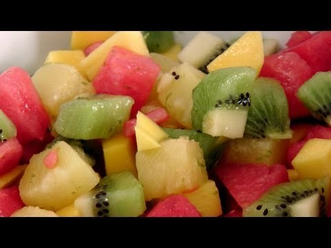 Tropical Fruit Salad – Recipe by Laura Vitale – Laura in the Kitchen Episode 175
