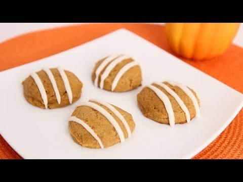 Homemade Pumpkin Cookies Recipe – Laura Vitale – Laura in the Kitchen Episode 667